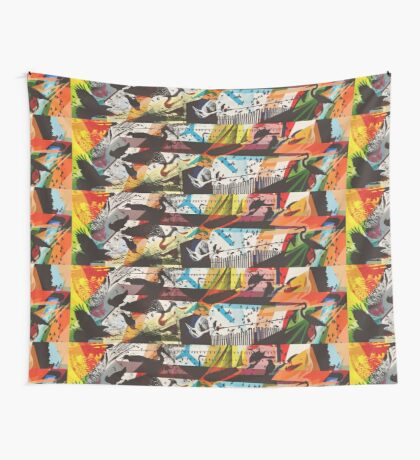 For The Birds Skate Deck Design Wall Tapestry
