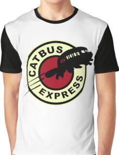 Nekobasu Express Graphic T-Shirt