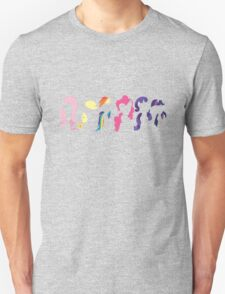 My Little Pony Mane Six Unisex T-Shirt