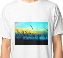 Blustery Beach (color edit) Classic T-Shirt