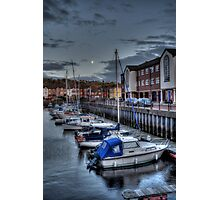 Moon & Marina  Photographic Print