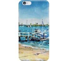 Newport Harbor  Balboa Island iPhone Case/Skin