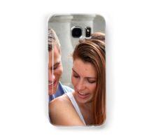 Young Couple Bridge Samsung Galaxy Case/Skin