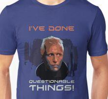 Blade Runner - Design 1b - Questionable Things Unisex T-Shirt