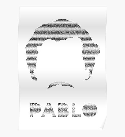 Pablo: words of El Patron Poster