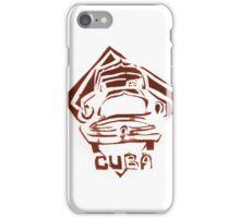 Cuban Cars No.3 iPhone Case/Skin