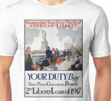Vintage poster - Statue of Liberty Unisex T-Shirt