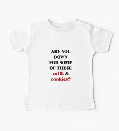Ariana Grande - Milk and Cookies Baby Tee