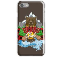 Beard Club iPhone Case/Skin