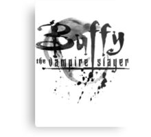 Buffy logo Metal Print