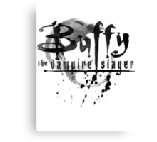 Buffy logo Canvas Print