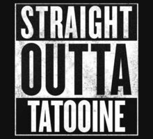 Straight Outta Tatooine Kids Tee