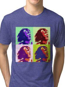 Joe Cocker Pop Art Tri-blend T-Shirt
