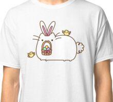 Cute Kawaii Easter Bunny Cat Classic T-Shirt