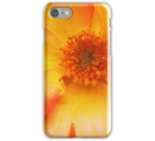 Peach and Yellow Rose iPhone Case/Skin