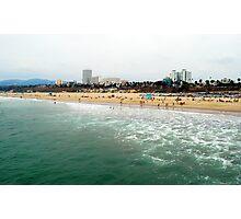 Santa Monica Beach, California Photographic Print