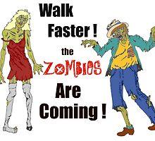 Walk Faster! by redqueenself