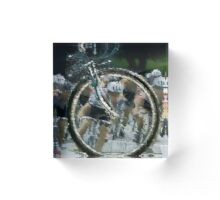 Bicycle Tour en France, Giro, race Acrylic Block