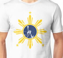 Filipino in United States Unisex T-Shirt