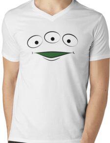 Toy Story Alien - Smile Mens V-Neck T-Shirt