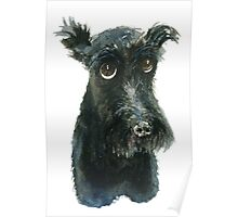 Scottie Dog Poster