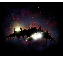 Transformers - Planetfall on Junk Photographic Print