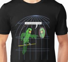 Parrot Cage Fight Unisex T-Shirt