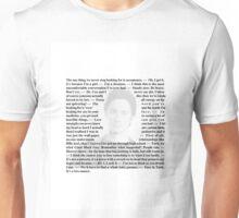 "Scrubs - Quotes of Dr. John ""JD"" Dorian Unisex T-Shirt"