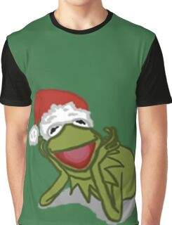 A Kermit Christmas Graphic T-Shirt