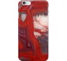 Fire Lace Agate with Zeolite iPhone Case/Skin