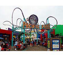 Pacific Park Santa Monica Pier California Photographic Print