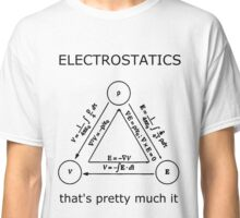 Electrostatics thats pretty much it [LIGHT] Classic T-Shirt