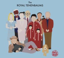 The Royal Tenenbaums by PolydsignStudio