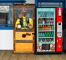 Zoltar Fortune Teller Santa Monica Pier California by BuffaloBob