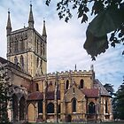 Pershore Abbey Pershore England 198405140040 by Fred Mitchell