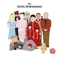 The Royal Tenenbaums Photographic Print