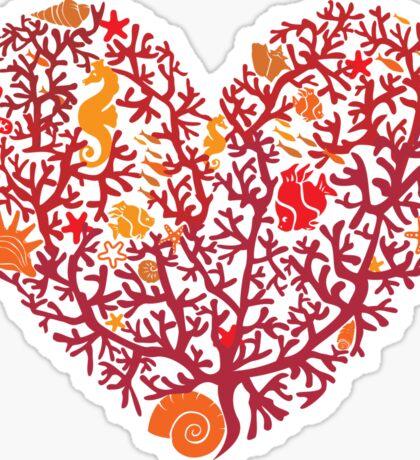Ocean Lover - Coral Reef Sticker