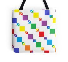 Rainbows, Triangles, and Squares!  Tote Bag