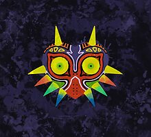 Majora's Mask Splatter by Greytel