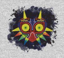 Majora's Mask Splatter One Piece - Long Sleeve