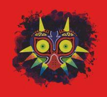 Majora's Mask Splatter One Piece - Short Sleeve