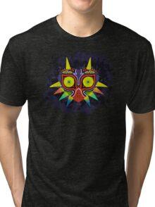 Majora's Mask Splatter Tri-blend T-Shirt