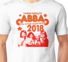 ABBA live virtual experience 2018 design!!! Unisex T-Shirt