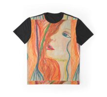 Red Head Graphic T-Shirt