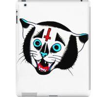 Devil Cat tat iPad Case/Skin