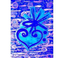 The devine heart of music by Nikki Ellina Photographic Print