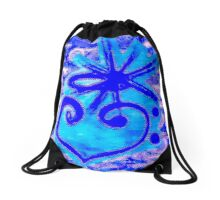 The devine heart of music by Nikki Ellina Drawstring Bag