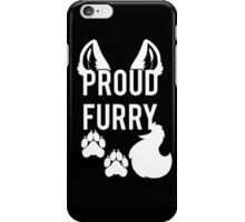 PROUD FURRY iPhone Case/Skin