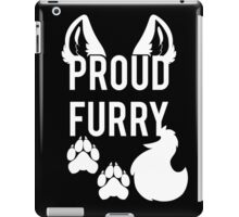 PROUD FURRY iPad Case/Skin