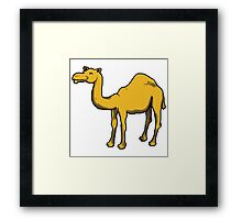 Cute camel Framed Print